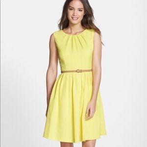Ellen Tracy Yellow Dress